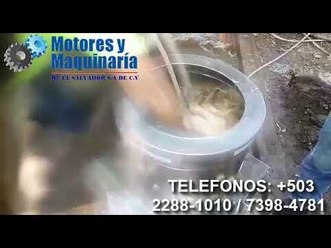 PELADORA DE POLLO. DESPLUMADORAS DE POLLOS