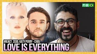 REAGINDO A Zedd, Katy Perry   365 (Official)