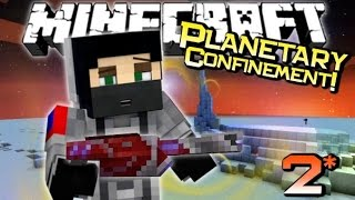 Minecraft | ENDERMITE SWARM! | Planetary Confinement Adventure Ep 2 (Custom Map)