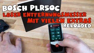 Unboxing & Review Bosch DIY PLR 50C Laserentfernungsmessgerät