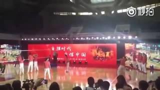 历史性的一幕!中国女排获得2016里约奥运会冠军!!!