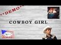 "Regardez ""Cowboy Girl - Marie-Claude Gil (Démo)"" sur YouTube"