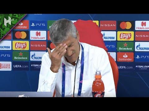Setien Despedido? Barcelona 2-8 Bayern Munich Conferencia De Prensa   Champions League – ESPAÑOL