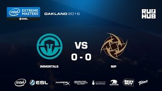 IEM Oakland - Immortals vs NiP - map1 - de_dust2 - [Enkanis, yxo]