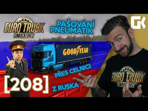 PAŠUJEME PNEUMATIKY Z RUSKA! | Euro Truck Simulator 2 #208