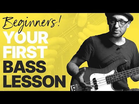 Beginner Bass Lesson (Your Very First Steps)