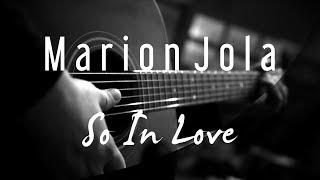 Marion Jola - So In Love ( Acoustic Karaoke )