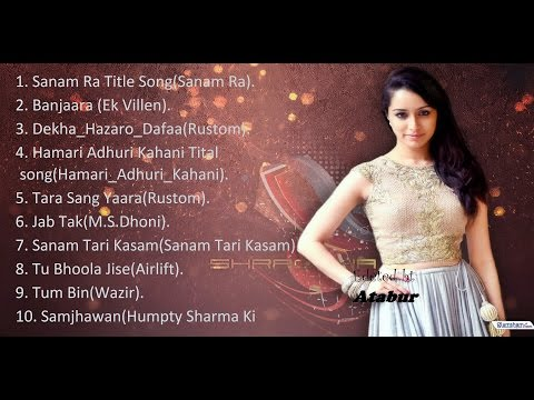 top 10 hindi romantic songs 2016 septamber bollywood movie s
