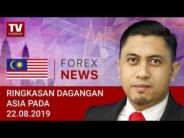 22.08.2019: JPY naik, USD tetap teguh (USDH, JPY, AUD)