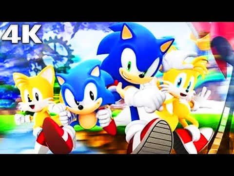 SONIC GENERATIONS All Cutscenes (Game Movie) 4k 60FPS Ultra HD