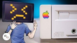 Vintage AppleCD 300 Setup (with Malfunctioning PowerBook) - Krazy Ken's Tech Misadventures