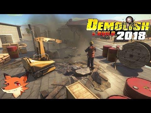 DEMOLISH & BUILD 2018 #2 [FR] On sort le robot téléguidé pour démolir des bâtiments !