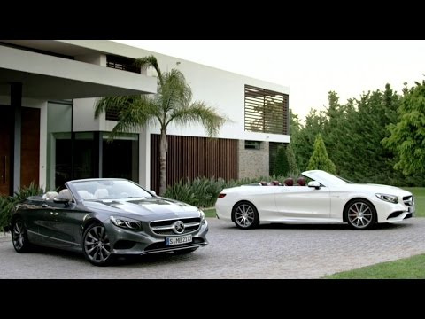 Mercedesbenz S Class Coupe Cabriolet Кабриолет класса A - рекламное видео 5