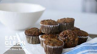 Gluten-Free Banana Apple Walnut Muffins – Eat Clean with Shira Bocar