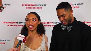 2018 CSA Artios Awards Interview - Logan Browning  Brandon P. Bell