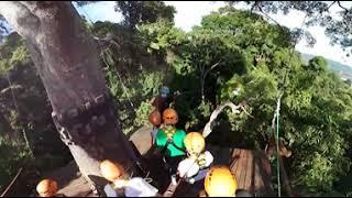 Полёт Ханумана на Пхукете (Flying Hanuman). Панорамное видео (360 градусов)