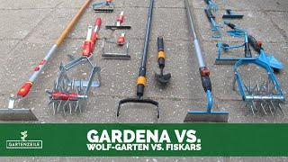 GARDENA vs WOLF-GARTEN vs FISKARS im großen Stecksystem Vergleich! Welches System überzeugt?