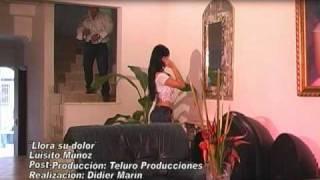 Llora su dolor Luisito Muñoz