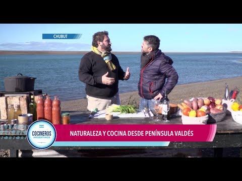 Sal marina en Península Valdés