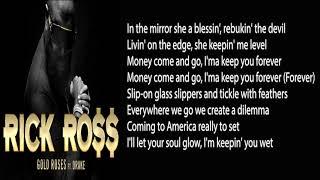 Rick Ross   Gold Roses (LYRICS) Ft. Drake