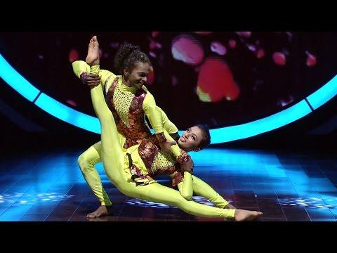 D3 D 4 Dance I Ann Mary & Vineesh - International Round I Mazhavil Manorama