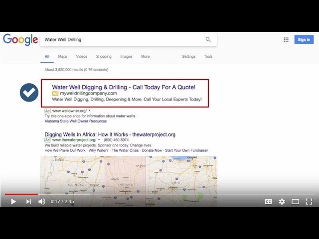 Google Adwords Marketing Video