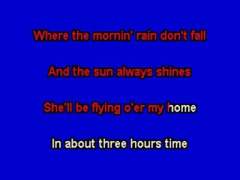 EARLY MORNING RAIN  ELVIS PRESLEY KARAOKE TRACK