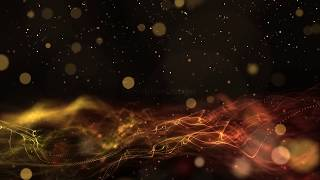 Orange bokeh motion background | Light Leaks wave wedding background video | Royalty Free Footages