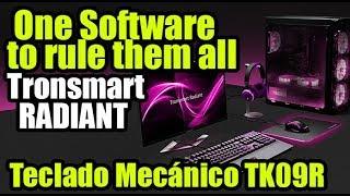 Controla tus dispositivos RGB con Radiant Software y el teclado Tronsmart TK09R- Droga Digital