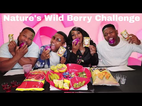 Nature's Wild Berry Challenge (Makes Everything Taste Sweet)
