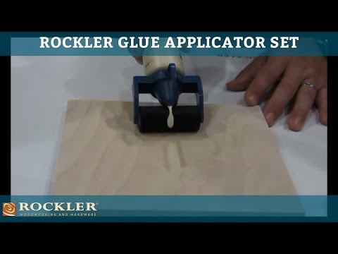 Rockler Glue Applicator Set at AWFS 2013
