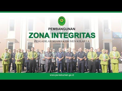 Pembangunan Zona Integritas Pengadilan Agama Kebumen Tahun 2020