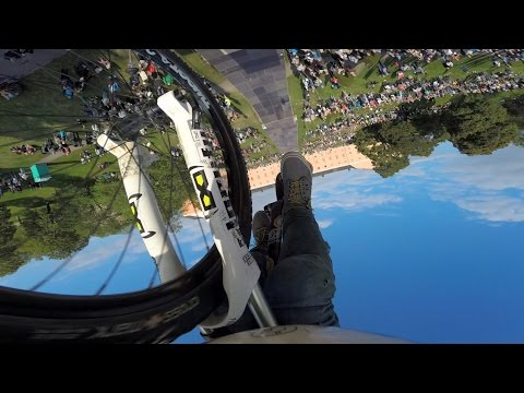 Video: Insane Double Frontflip Bike Trick From The Biker's Perspective