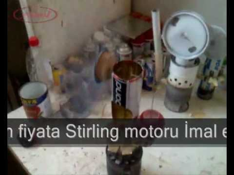 ev yapımı stirling motoru 34 'stirling Engine'