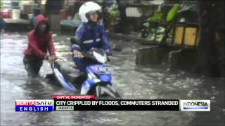 Serious Flooding, Power Outages Hit Indonesian Capital