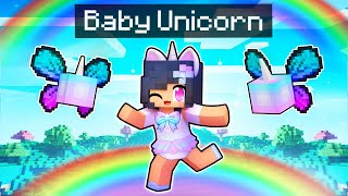 A New BABY Unicorn Is BORN In Minecraft!