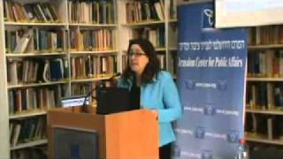 Herzberg, JCPA Conference: NGOs Spearheading Abuse of International Law to Delegitimize Israel