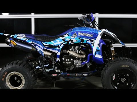 Wild Native: Infantry Series Graphics For Yamaha YFZ450R Mp3