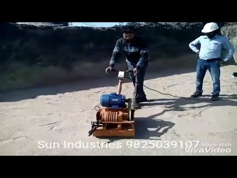 3 HP Earth Compactor