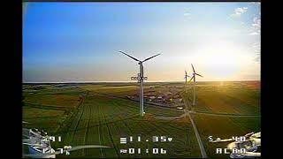 Pierwsze loty za płoty / Eachine Twig first flight DVR footage