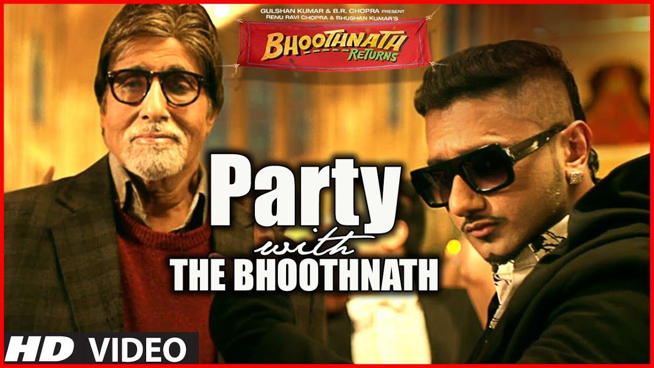 Party With The Bhoothnath Song (Official) | Bhoothnath Returns | Amitabh Bachchan, Yo Yo Honey Singh  downoad full Hd Video