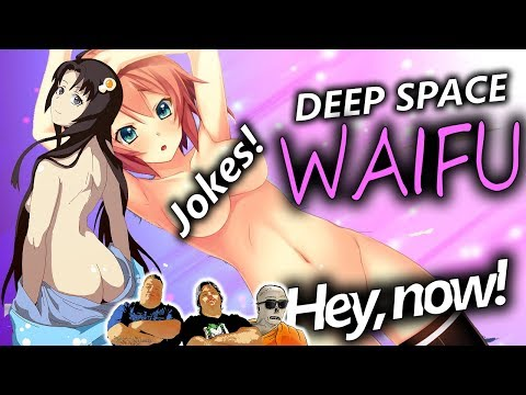 Deep Space Waifu: NUDE Girls and Laughs!? - Jokes Mashup #26 - GameBound/Type QQ Let's Play (18+?)
