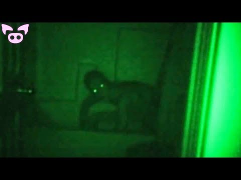 Scariest Things Caught on Night Vision Cameras