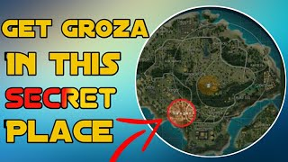 Secret place to get groza easily || Looting Zone in free fire || See my new video