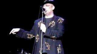 Boy George Unfinished Business Live at Glasgow