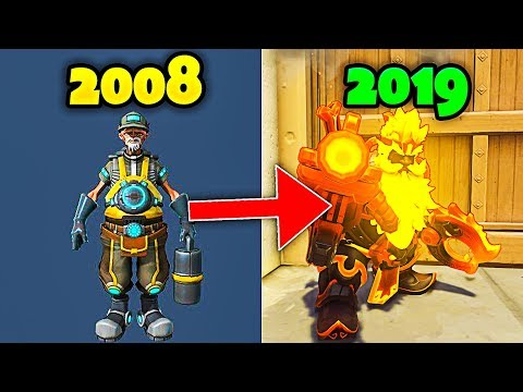 Evolution of Overwatch - From 2008 to 2019 [UPDATED]
