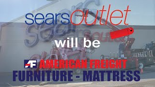 MALL WALKING: Sears Outlet Becoming American Freight