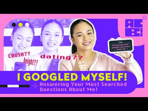 [Andree Bonifacio]  I GOOGLED MYSELF! (Answering Your Most Searched Questions About Me!) | AC Bonifacio