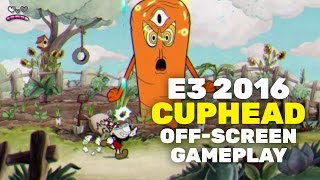 E3 2016 Gameplay off-screen