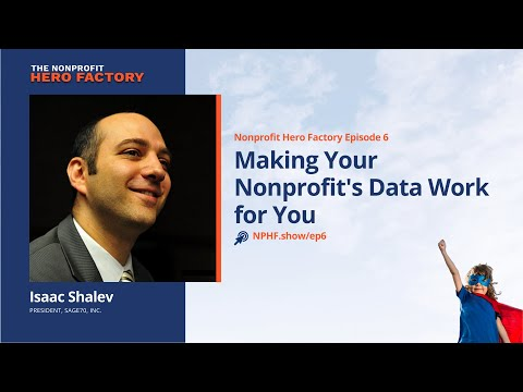 , title : 'Episode 6: Making Your Nonprofit's Data Work for You with Isaac Shalev